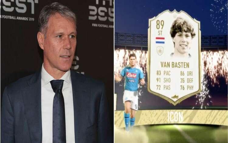 Marco van Basten đồng loạt bị giới hạn trên FIFA truyền thống và FIFA Online vì