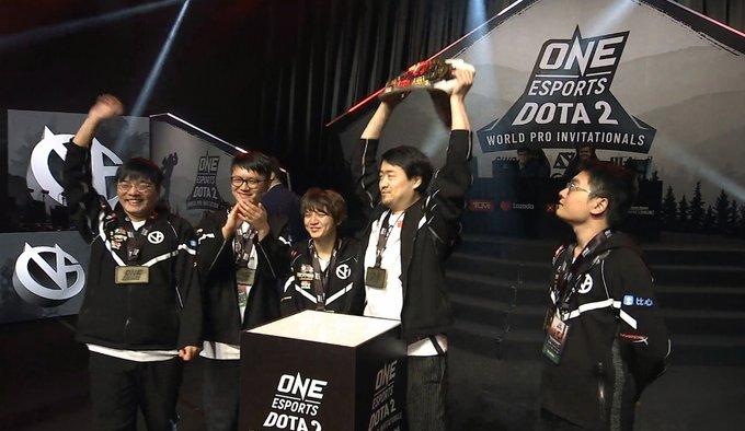 vg champion - Top 4 đội tuyển Dota 2 xuất sắc nhất trong năm 2019