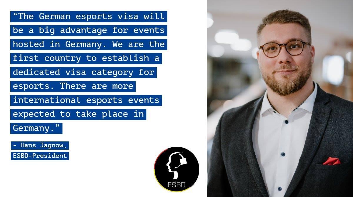 visa 1 - Chính phủ Đức cấp visa cho các player eSports không thuộc EU