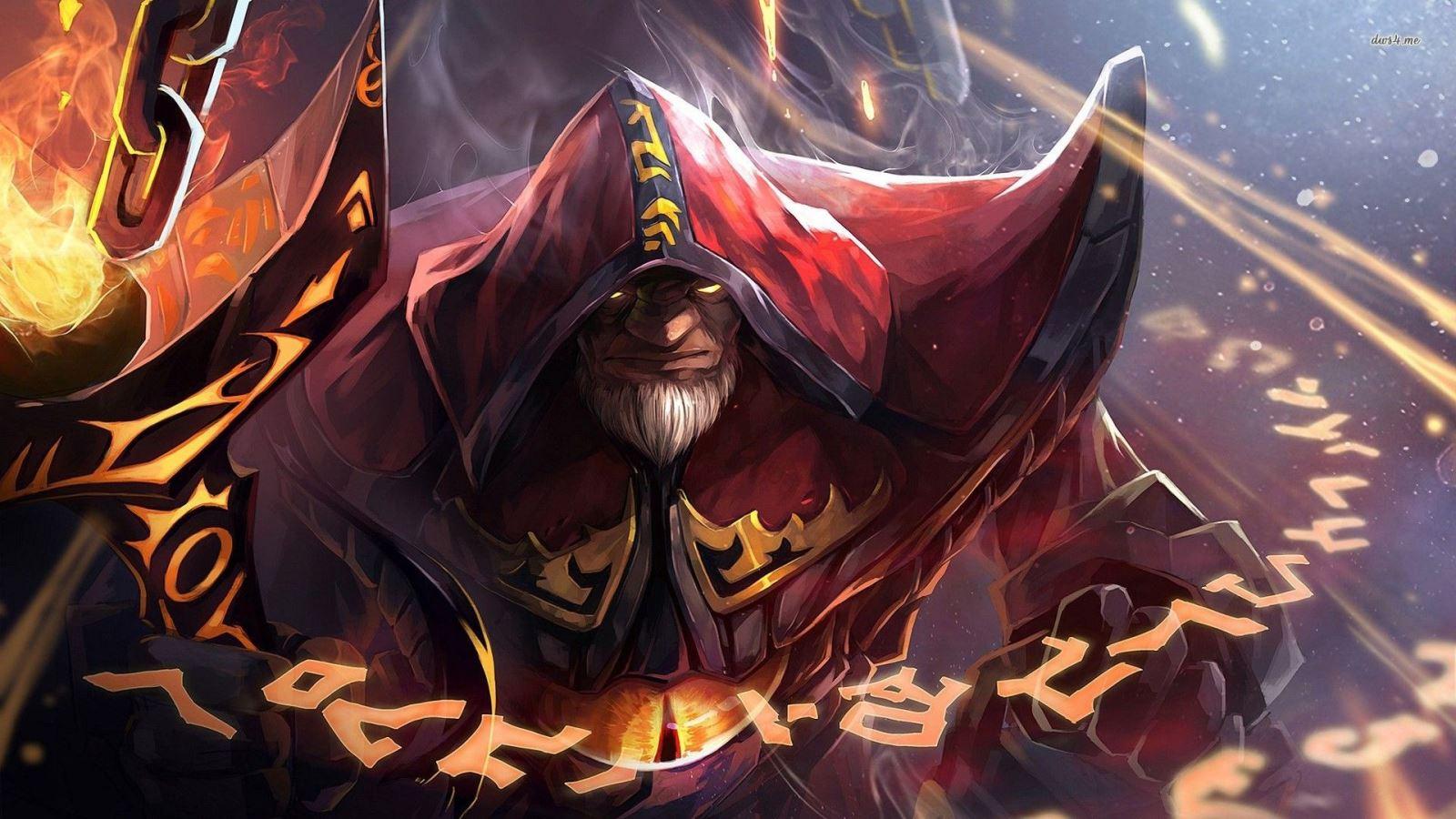 """warlock dota 2 - Những hero """"bá đạo"""" đã bị xóa sổ thời DOTA 1 (Phần 5)"""