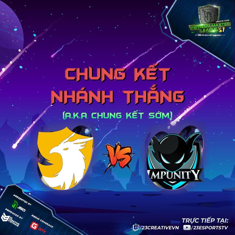 496 vs impunity vml - Vòng Playoff Vietnam Master League Season 1: 496 nếm mùi thất bại đầu tiên của năm 2020
