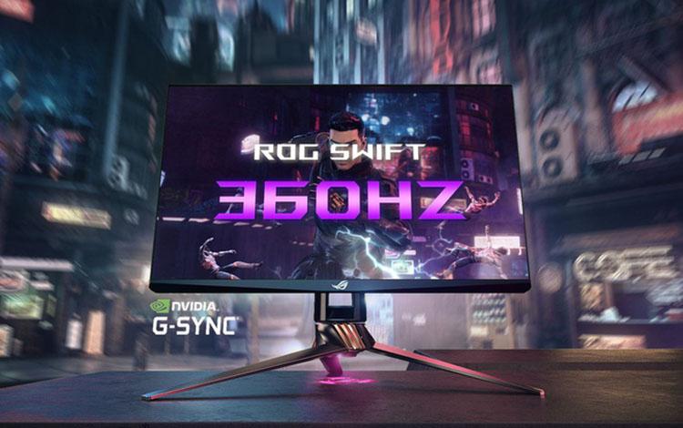 Asus giới thiệu màn hình 360 Hz dành riêng cho game thủ eSports tại CES 2020