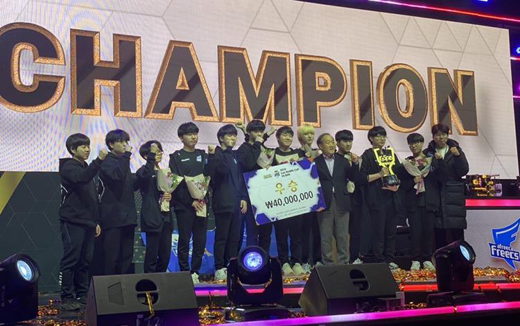 Afreeca Freecs rinh giải thưởng gần 1 tỷ đồng sau chức vô địch KESPA Cup