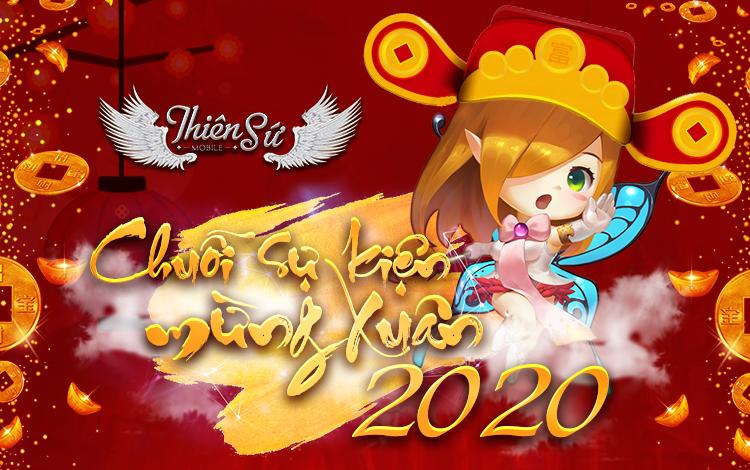 Cơn mưa quà tặng, giftcode Tết Canh Tý 2020 dành tặng game thủ Thiên Sứ Mobile