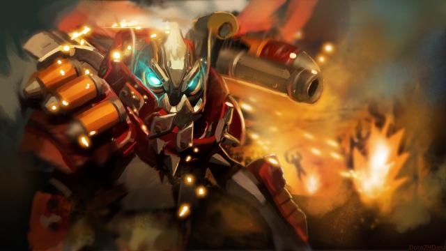 clockwerk dota 2 - Xếp hạng những Offlane Hero của phiên bản 7.23e: Quỷ vương giá lâm