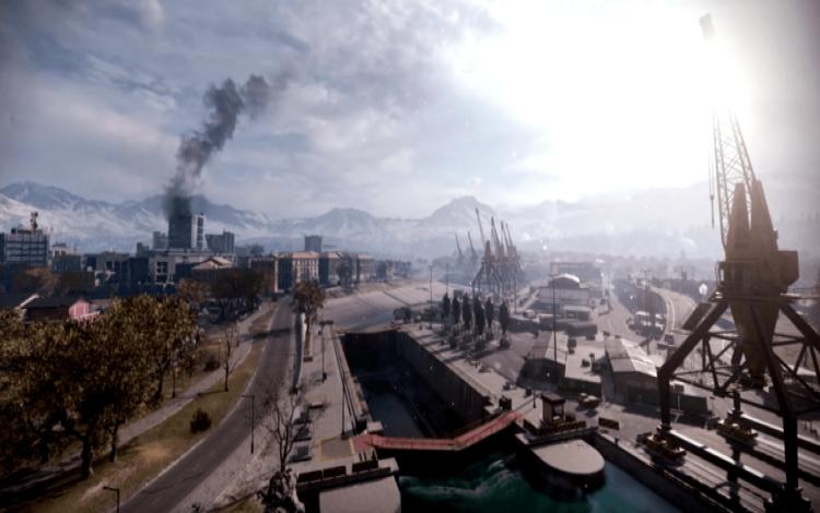 Một màn hình tải được cho là từ Battle Royale của Modern Warfare, theo TheGamingRevolution.