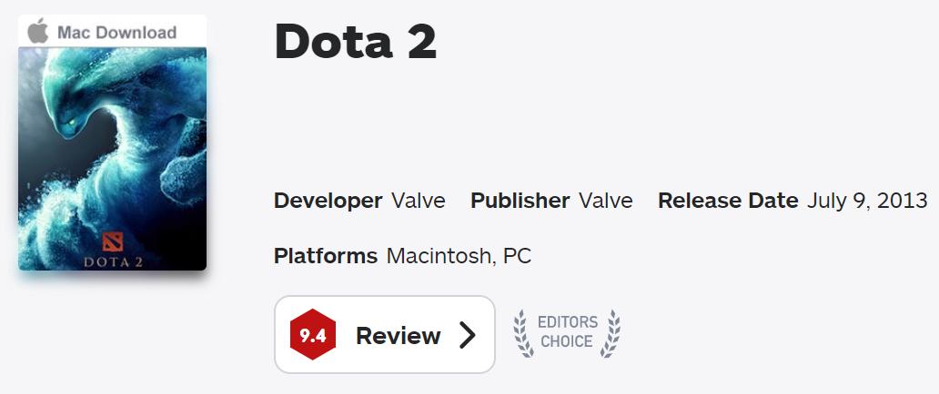 dota 2 ign - DotA 2 được bầu chọn là một trong những tựa game hay nhất thập kỷ