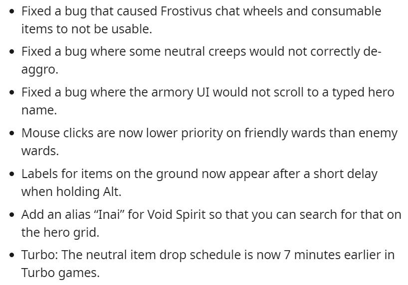 dota update 3 1 - Dota 2 liên tục có những bản cập nhật vá lỗi trong những ngày đầu tiên của năm mới