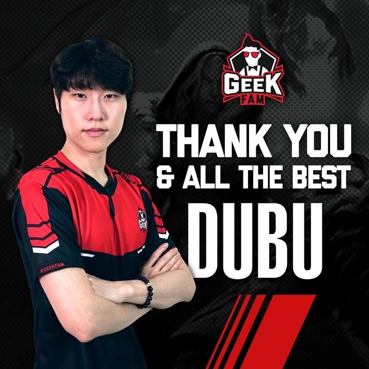 dubu 3 - GeekFam chia tay với đội trưởng người Hàn Quốc