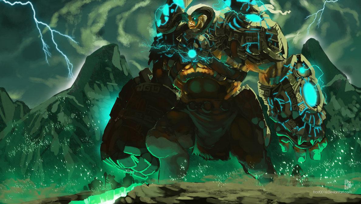 elder titan - Con đường đến DotA: Zet, Hồ Quang Giám Ngục