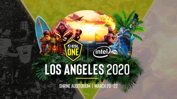 esl one LA - Những giải đấu Dota 2 không thể bỏ lỡ trong tháng 2 năm 2020