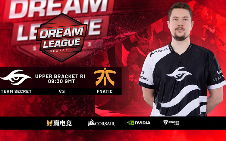 Vòng playoff Leipzig Major: Secret vs Fnatic - Quá dễ cho Puppey?