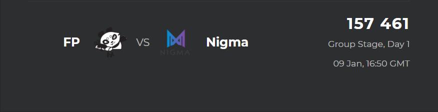 fp vs nigma - Bukovel Minor - Giải đấu của những điều tuyệt vời