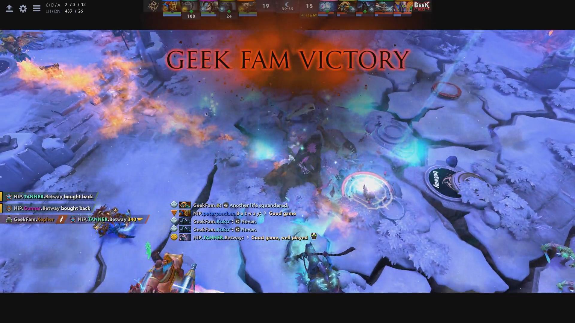 gf win g1 - Ra quân thất bại, cựu vương TI5 tự làm khó mình tại Bukovel Minor