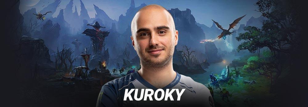 kuroky dota 2 - Những game thủ DotA 2 kiệt xuất của năm 2019