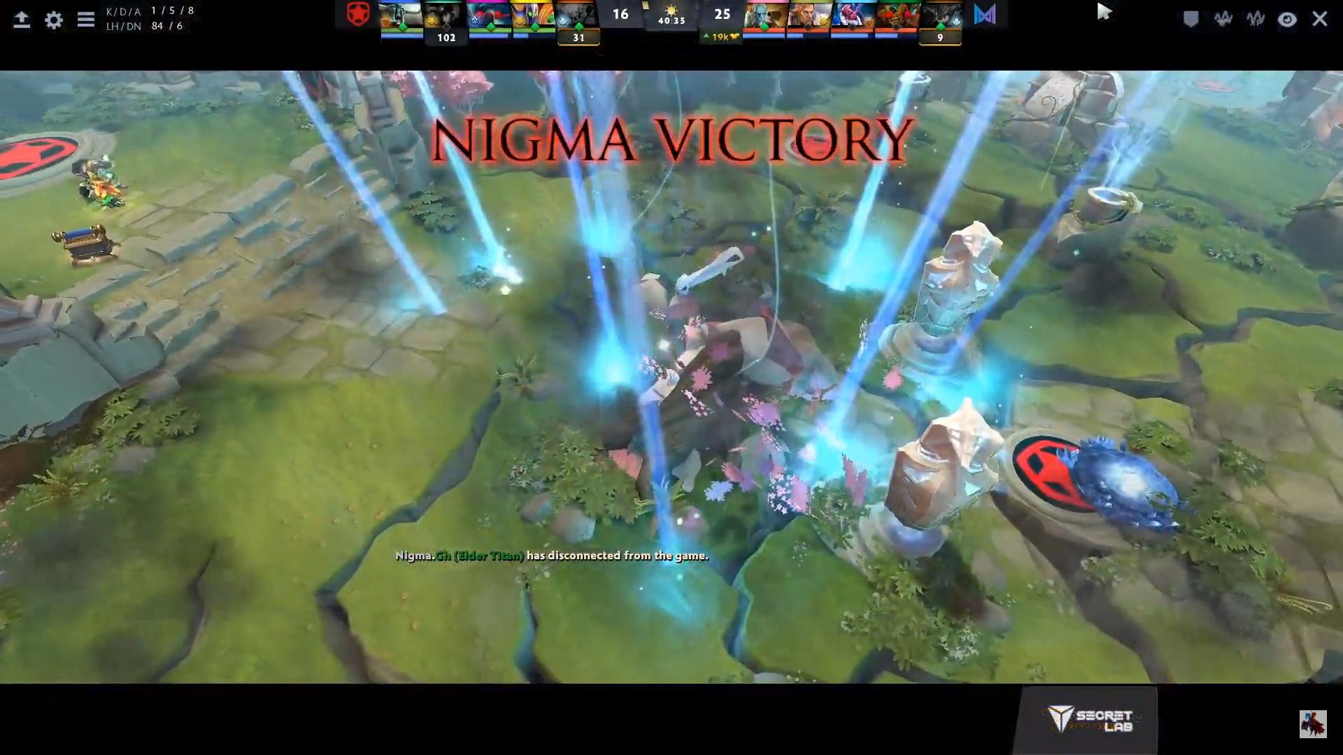 nigma won g2 gambit - Nigma đặt dấu chấm hết cho niềm hy vọng của Dota 2 CIS tại Bukovel Minor