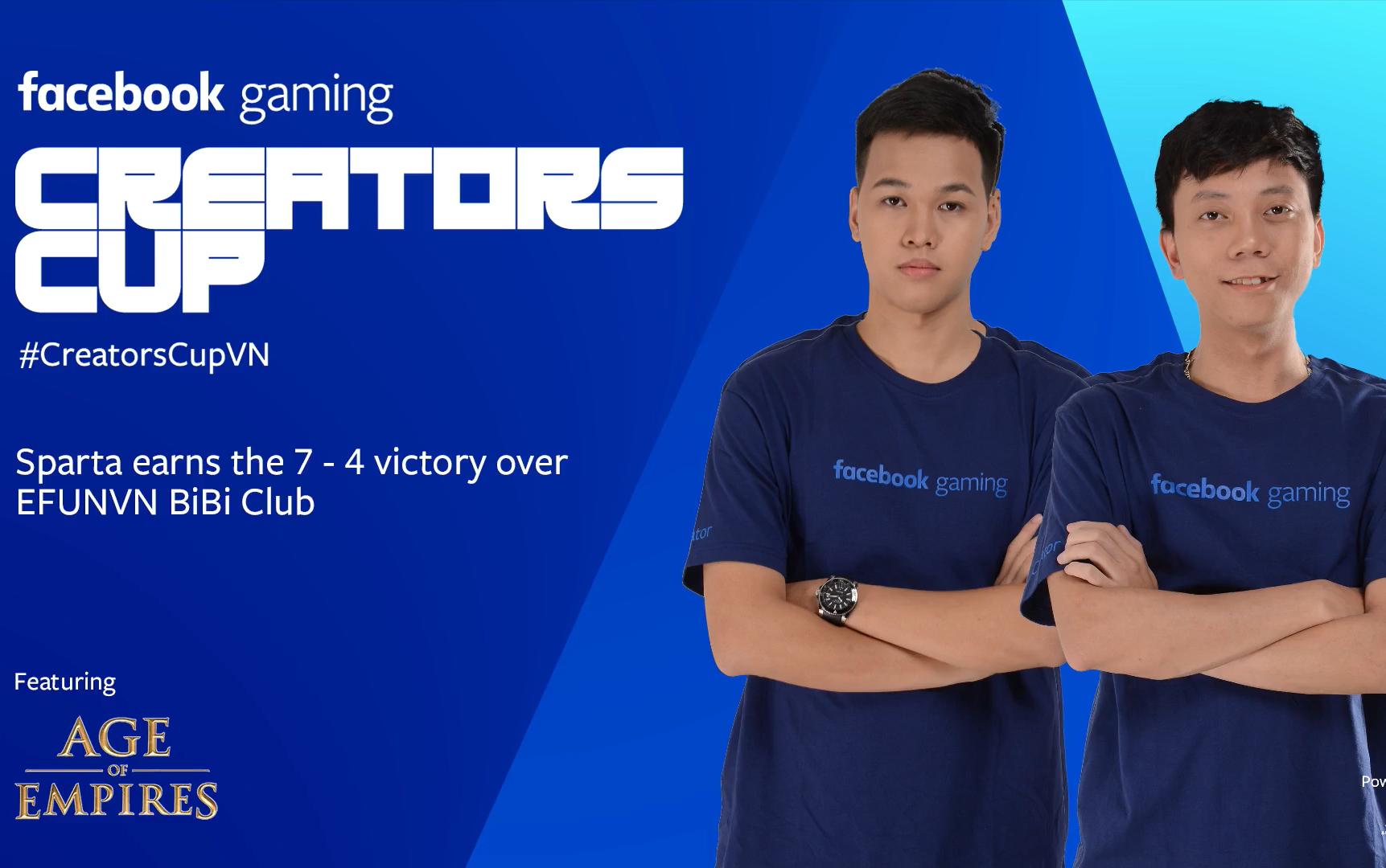 Sparta phá 'dớp' thất bại, thẳng tiến Chung kết AoE Facebook Gaming Creators Cup 2019