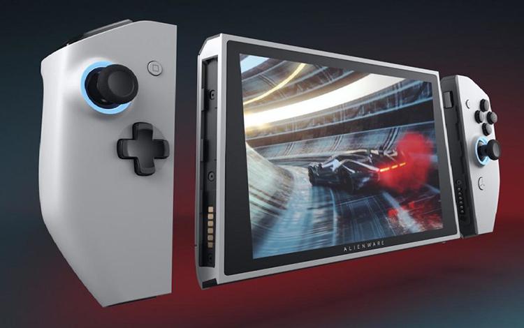 Dell giới thiệu chiếc PC Gaming cầm tay giống hệt Nintendo Switch