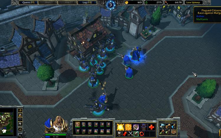 Sự thật về tính năng upkeep trong Warcraft 3