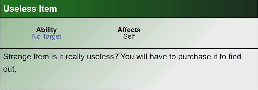 useless item - Những Item đã từng xuất hiện trong DotA Allstars có thể bạn không biết (Phần 3)