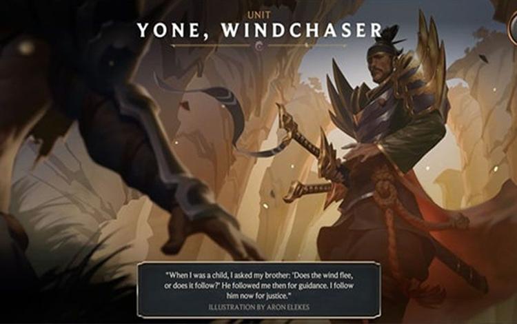 Phát hiện bằng chứng cho thấy Yone - Anh trai của Yasuo, sẽ là vị tướng tiếp theo xuất hiện