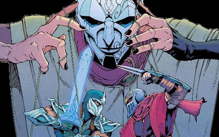 Chương 3 của bộ truyện Marvel - Riot Comic xuất hiện với Zed, Shen và Jhin