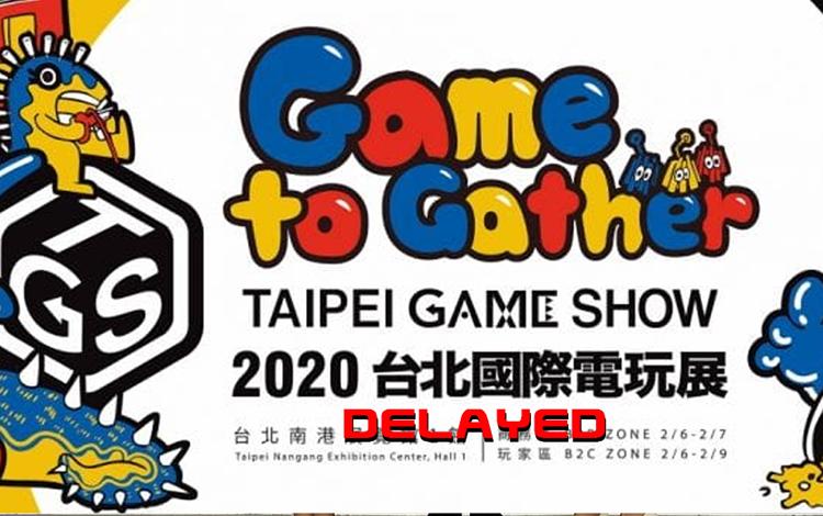 Triển lãm trò chơi Đài Bắc bị hoãn vì đại dịch Corona