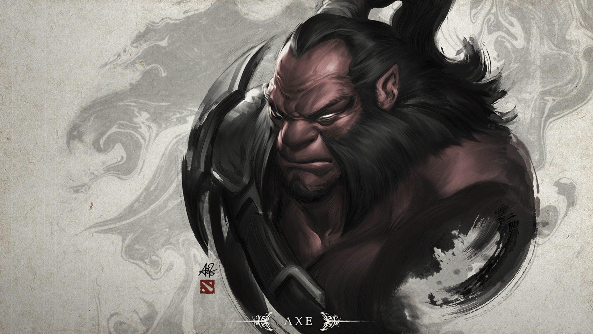 """axe 3 - Tiểu sử Hero: Axe - Tên thổ dân """"ngứa đòn"""""""
