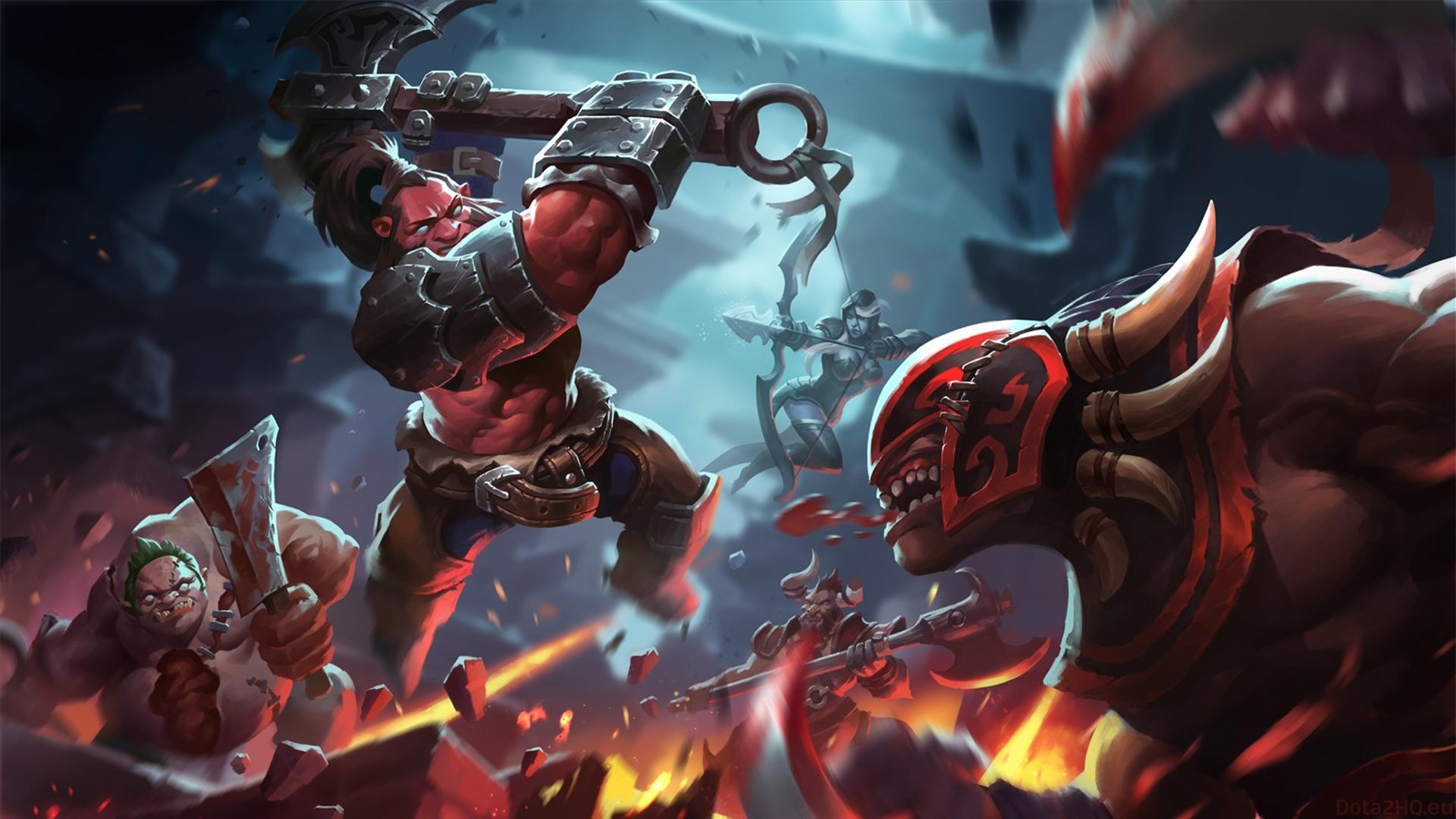"""axe 4 - Tiểu sử Hero: Axe - Tên thổ dân """"ngứa đòn"""""""