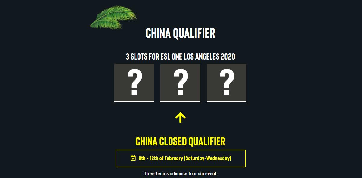 china esl one LA - Dota 2 Trung Quốc đứng trước nguy cơ không thể tham dự ESL One Los Angeles