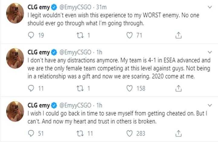 Emy's Tweet