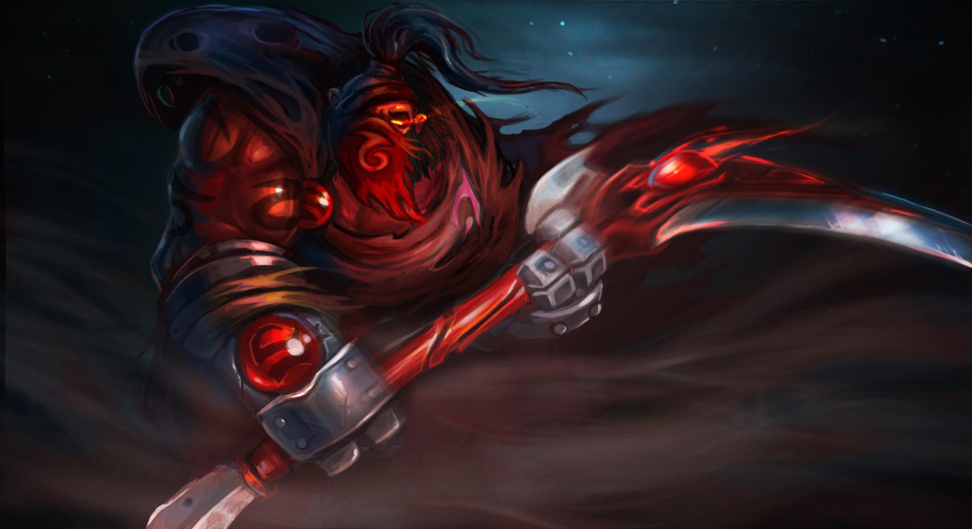 """red mist reaper - Tiểu sử Hero: Axe - Tên thổ dân """"ngứa đòn"""""""