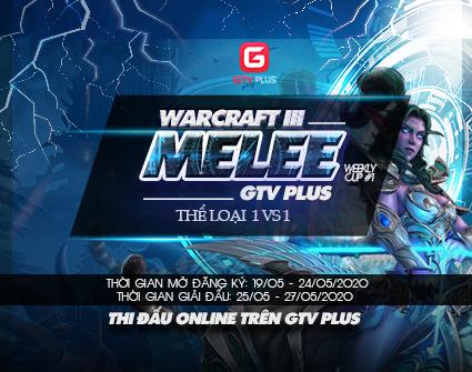 Warcraft 3 Melee GTV Plus Weekly cup
