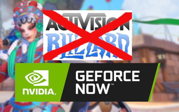 Activision Blizzard gỡ game khỏi GeForce Now - Tất cả chỉ là hiểu nhầm