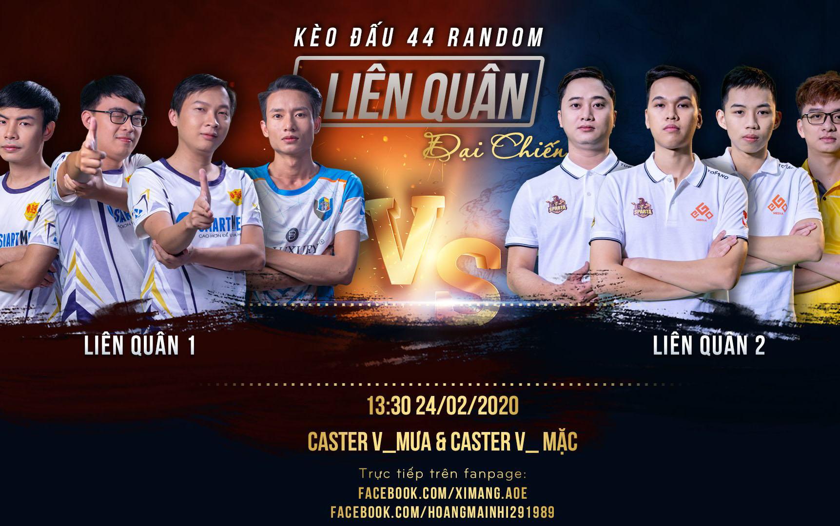 4vs4 Random GameTV Old vs Hà Nội Old: Tái hiện trận derby thủ đô