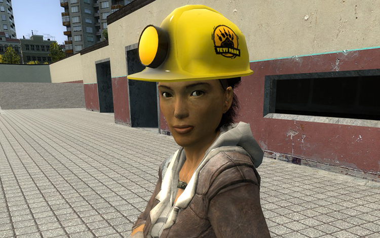 Half-Life: Alyx thay HEV Charger bằng chiếc mũ bảo hộ