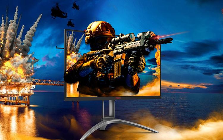 AOC công bố màn hình AGON AG273QZ với 240 Hz dành riêng cho game thủ