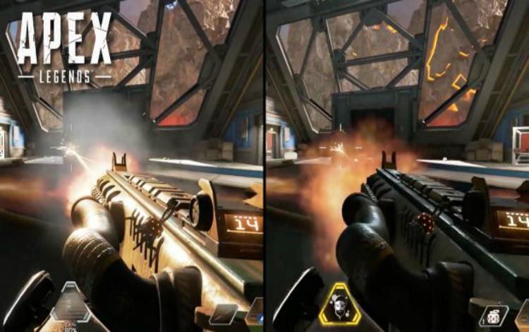 So sánh muzzle flash trong Apex Legends trước và sau update: Một trời một vực
