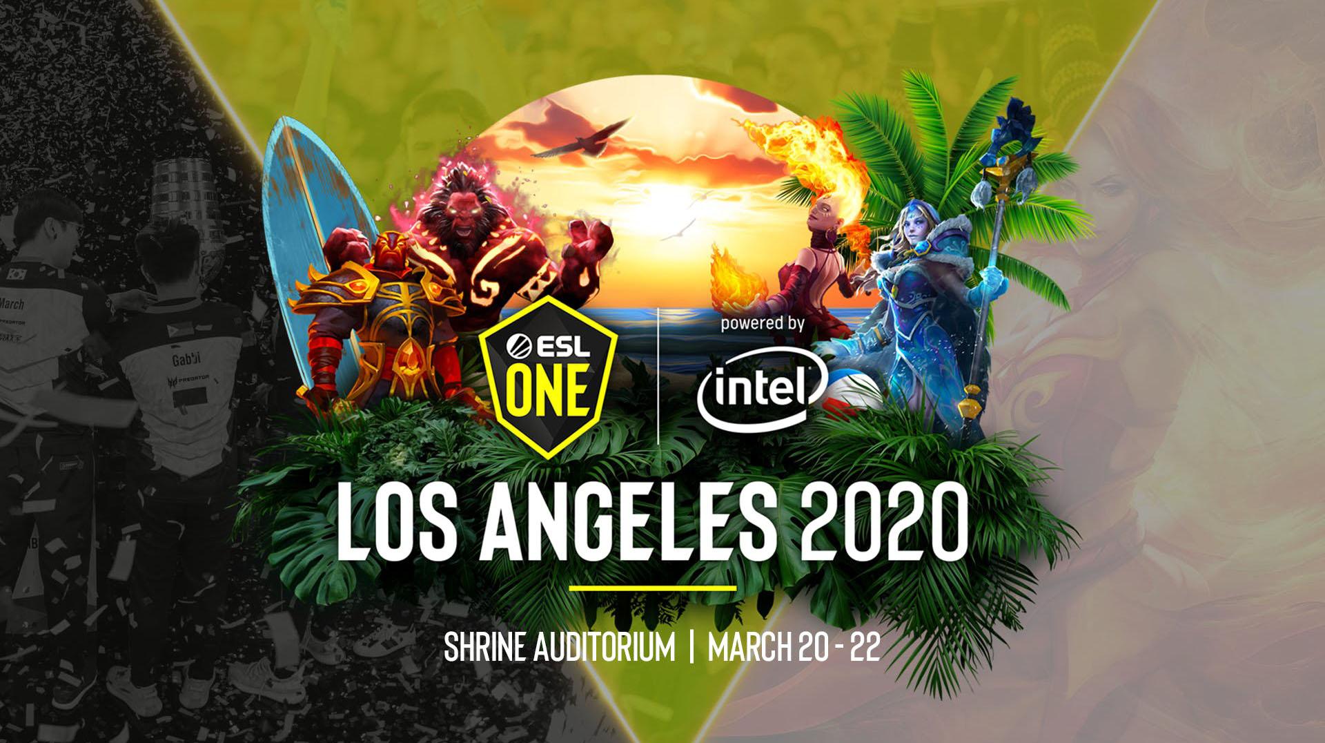 ESL One Los Angeles 2020 vẫn sẽ diễn ra theo đúng kế hoạch?