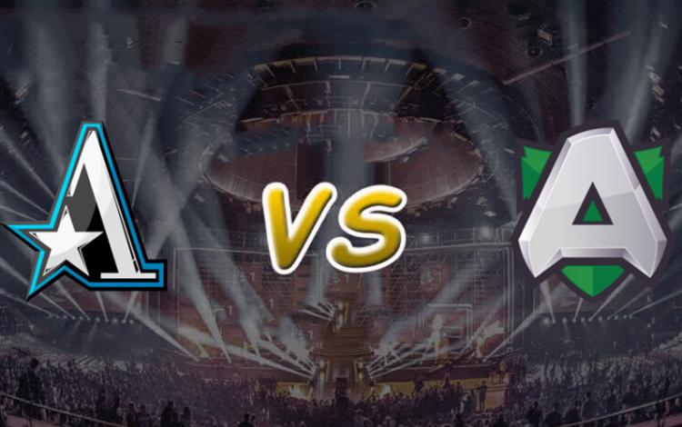 Vòng playoff Kiev Minor: Alliance vs team Aster - Phương Đông đấu phương Tây