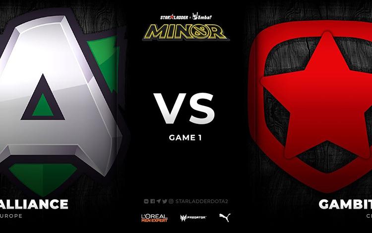 Vòng playoff Kiev Minor: Alliance vs Gambit - Khắc tinh của Nikobaby?