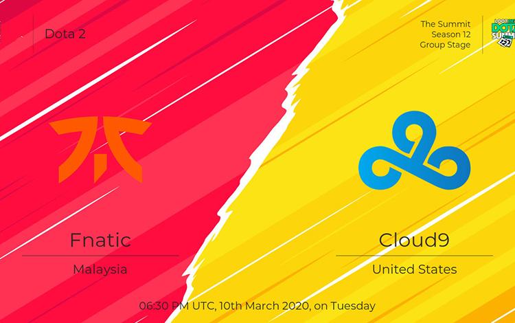 Vòng bảng The Summit 12: Fnatic vs Cloud9 - Ngày trở về của EternaLEnVy