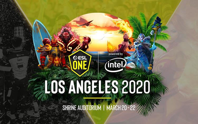 Kết quả bốc thăm vòng bảng ESL One Los Angeles 2020: EG sớm gặp OG