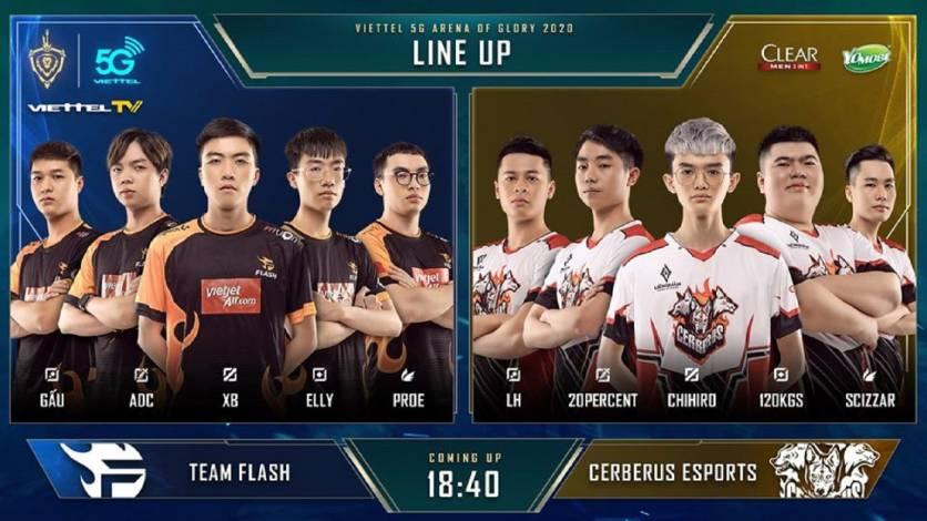 """Flash đánh bại Cerberus Esports trong trận đấu """"dài hơi"""" nhất ĐTDV Mùa Xuân 2020"""