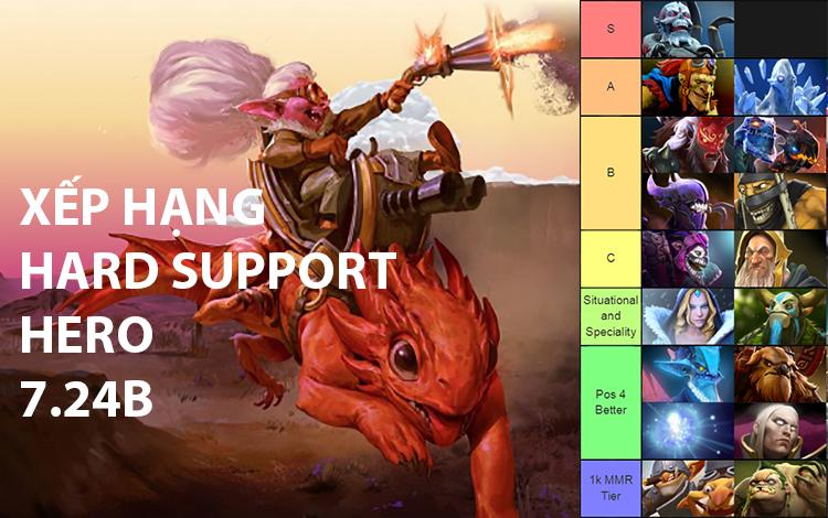 Xếp hạng những Hard Support của phiên bản 7.24b: Gọi tên Oa Long Lão Bà