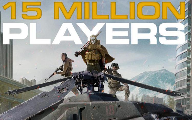 Call of Duty: Warzone cán mốc 15 triệu người chơi sau 3 ngày ra mắt