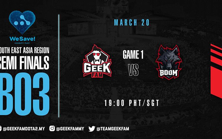 WePlay! Charity Save: GeekFam vs Boom Esports - Bữa khai vị trước món chính