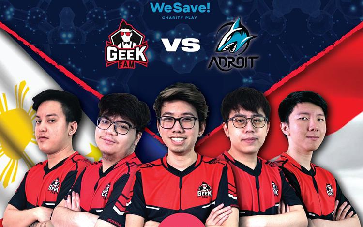 WeSave! Charity Play: GeekFam vs Adroit - Ai sẽ là nhà vô địch?