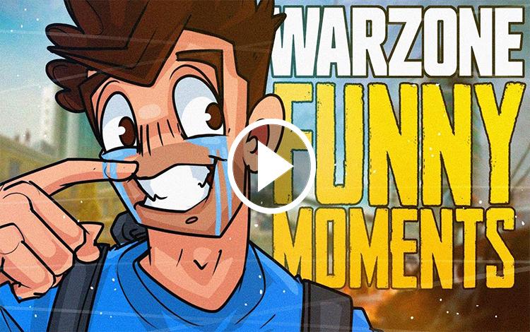 Những tình huống hài hước của shroud trong Call of Duty: Warzone