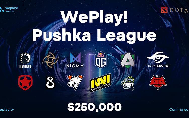 OG, Secret và Nigma tiếp tục góp mặt trong giải đấu Online tiếp theo của WePlay!